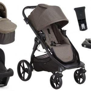 Baby Jogger yhdistelmävaunut City Premier + Turvakaukalo + Isofix-telakka Taupe
