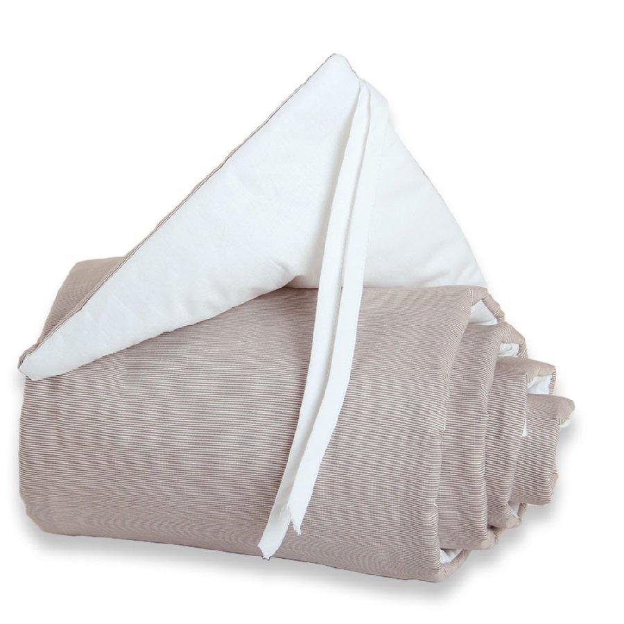 Babybay Maxi Reunapehmuste Ruskea / Valkoinen