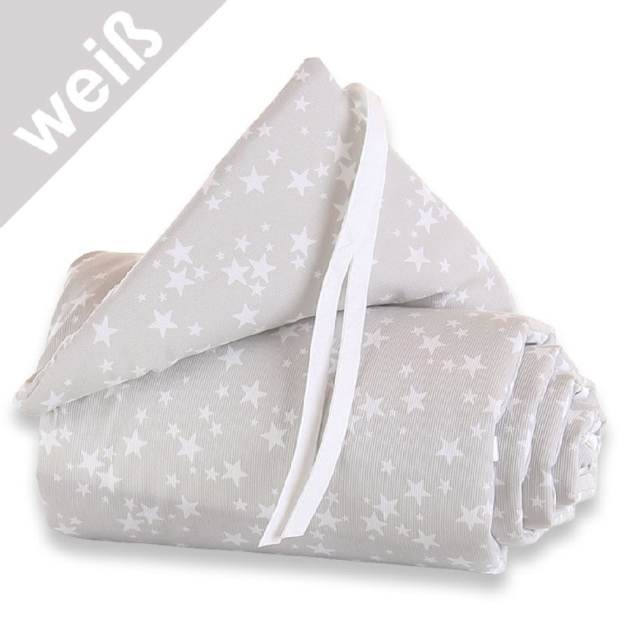 Babybay Maxi Reunapehmuste Tähdet / Valkoinen