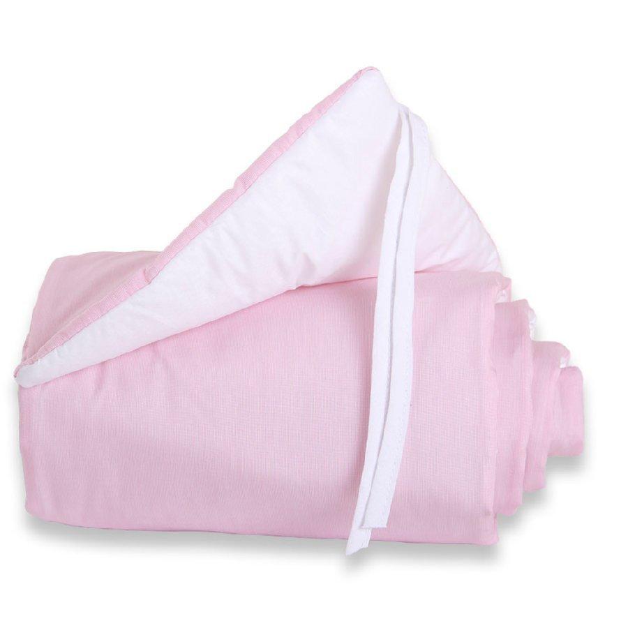 Babybay Maxi Reunapehmuste Vaaleanpunainen / Valkoinen