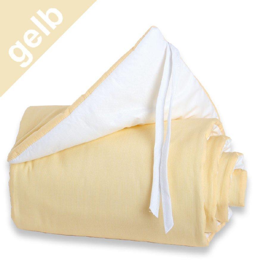 Babybay Midi / Mini Reunapehmuste Valkoinen / Keltainen