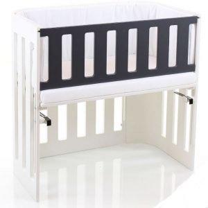 Babybay Sivulaita lastensänkyyn Bedside Crib Harmaa