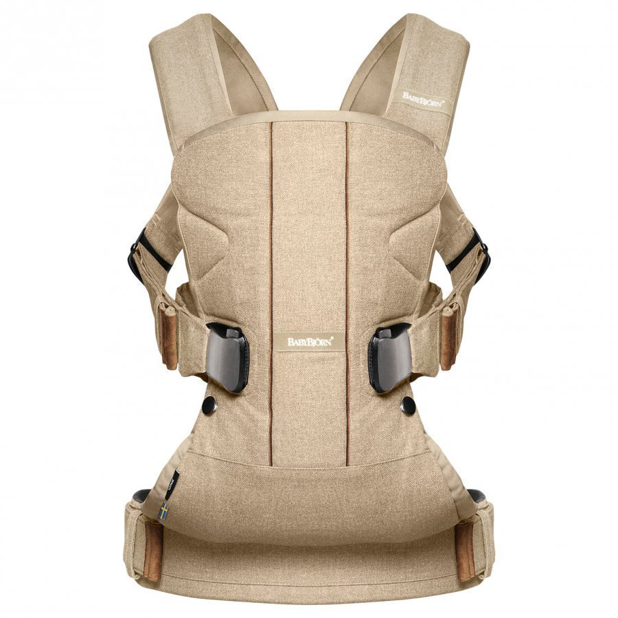 Babybjörn Baby Carrier One Birchwood Beige Kantoreppu