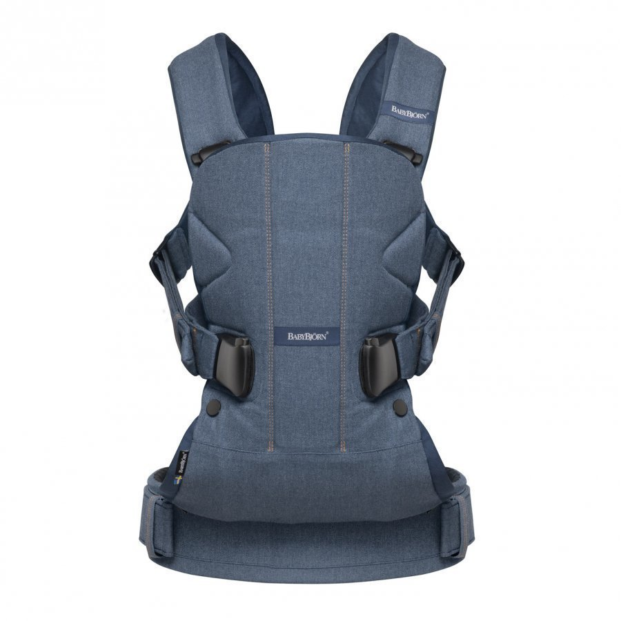 Babybjörn Baby Carrier One Classic Denim/Midnight Blue Kantoreppu