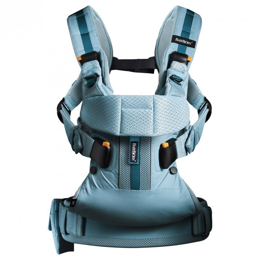 Babybjörn Baby Carrier One Outdoors Turquois Kantoreppu