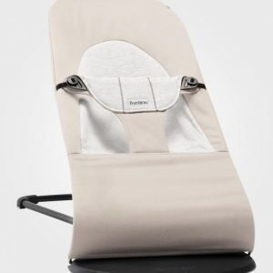 Babybjörn Bouncer Balance Soft Beige/Grey Cotton Babysitteri