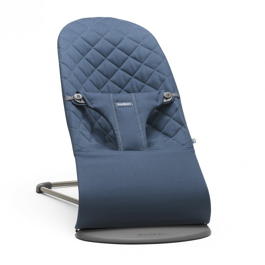 Babybjörn Bouncer Bliss Cotton Midnight Blue Babysitteri