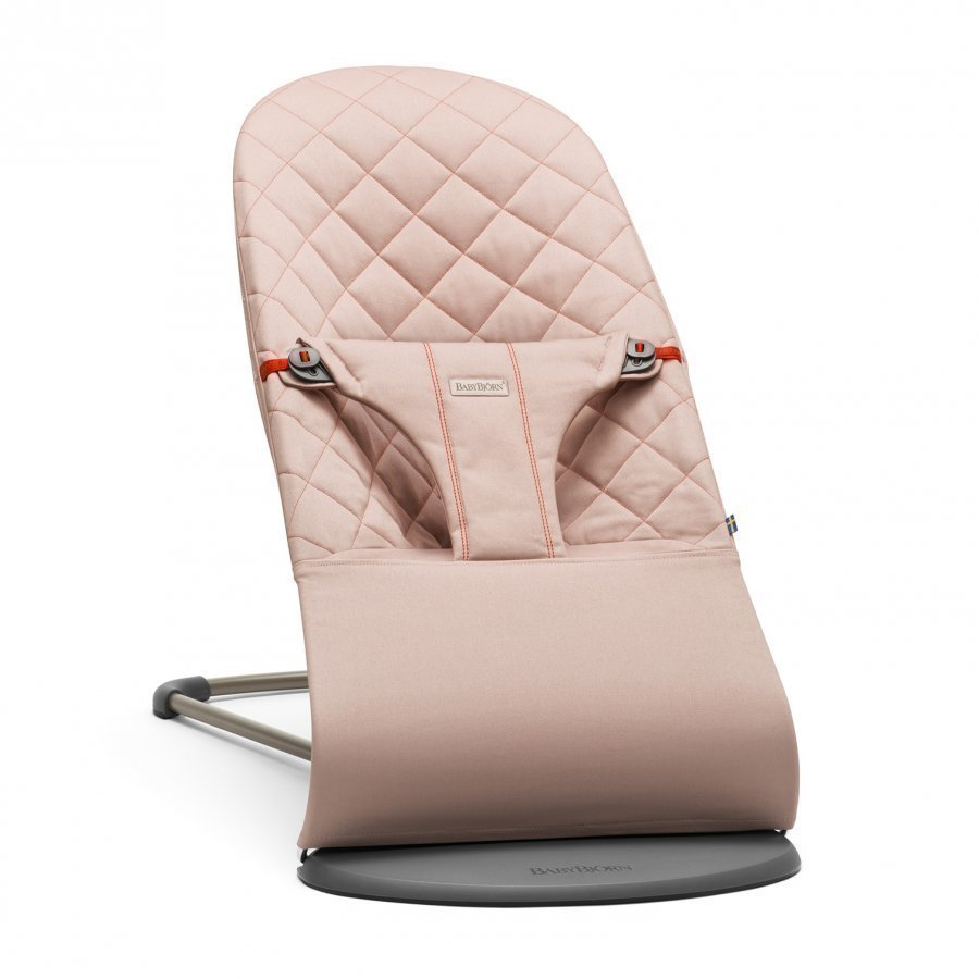 Babybjörn Bouncer Bliss Cotton Old Rose Babysitteri