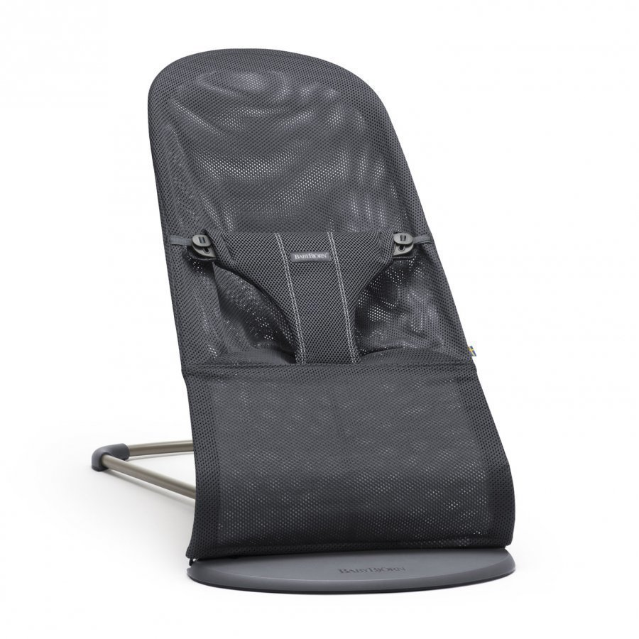 Babybjörn Bouncer Bliss Mesh Anthracite Babysitteri