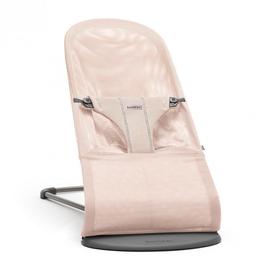 Babybjörn Bouncer Bliss Mesh Powder Pink Babysitteri