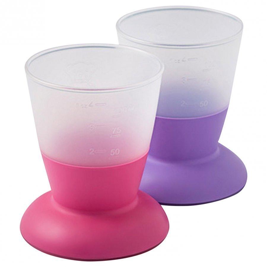 Babybjörn Cup 2-Pack Pink/Purple Nokkamuki