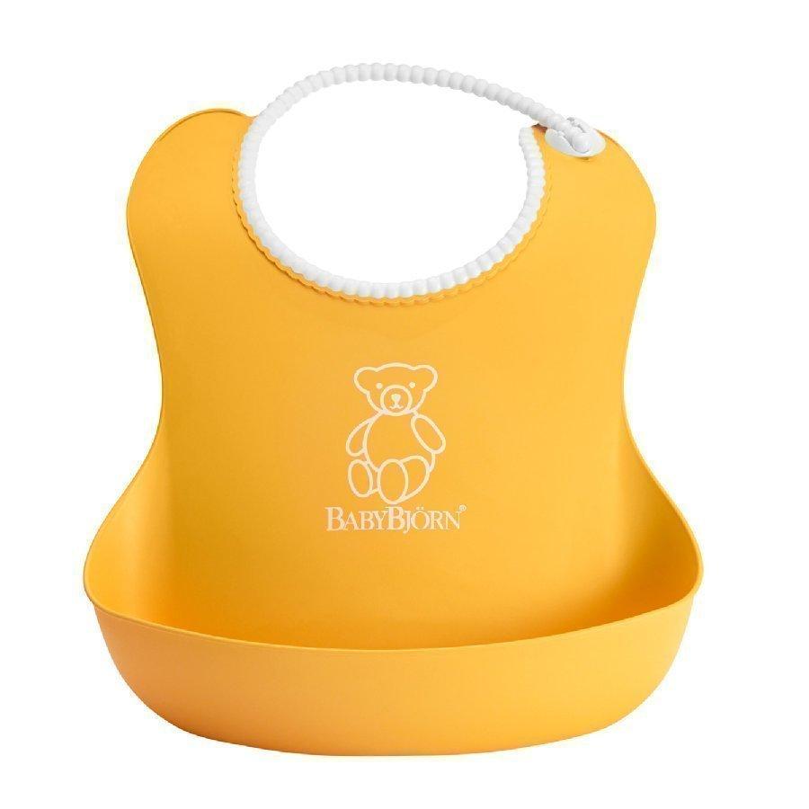 Babybjörn Pehmeä Ruokalappu Keltainen