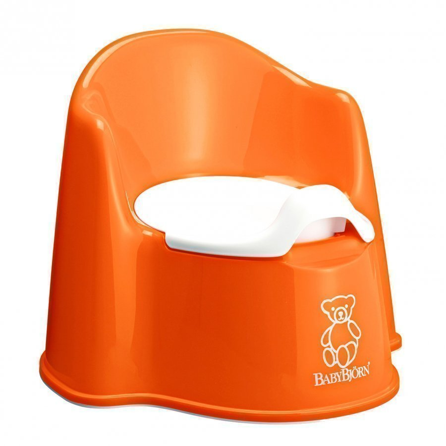 Babybjörn Potty Chair Orange Potta