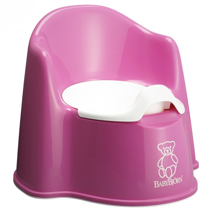 Babybjörn Potty Chair Pink Potta