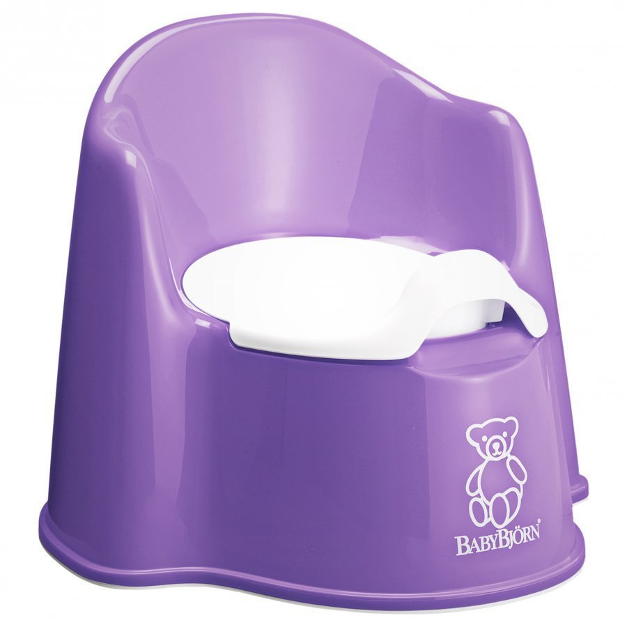 Babybjörn Potty Chair Purple Potta