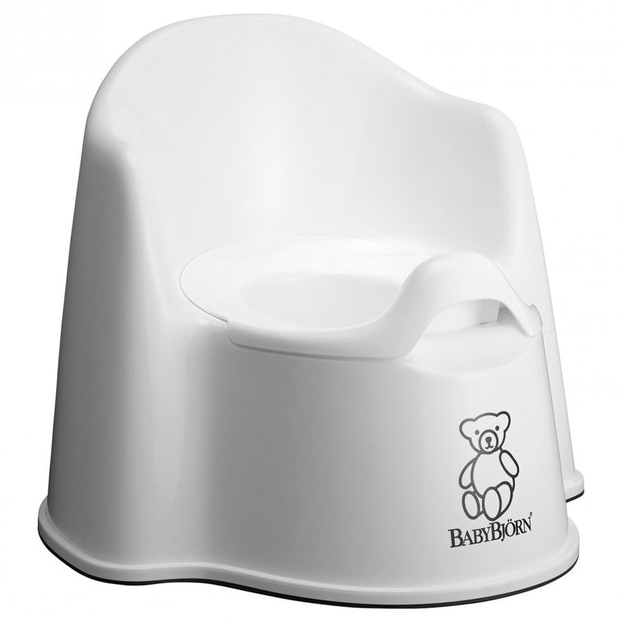Babybjörn Potty Chair White Potta