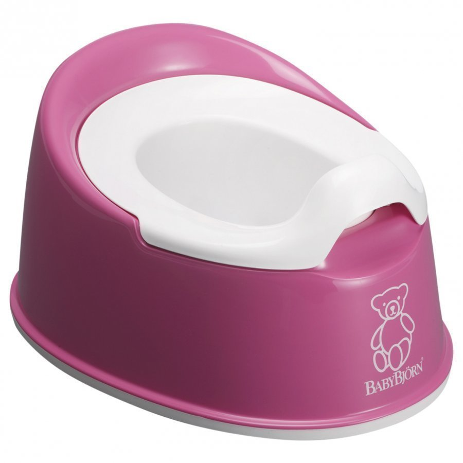 Babybjörn Smart Potty White/Pink Potta