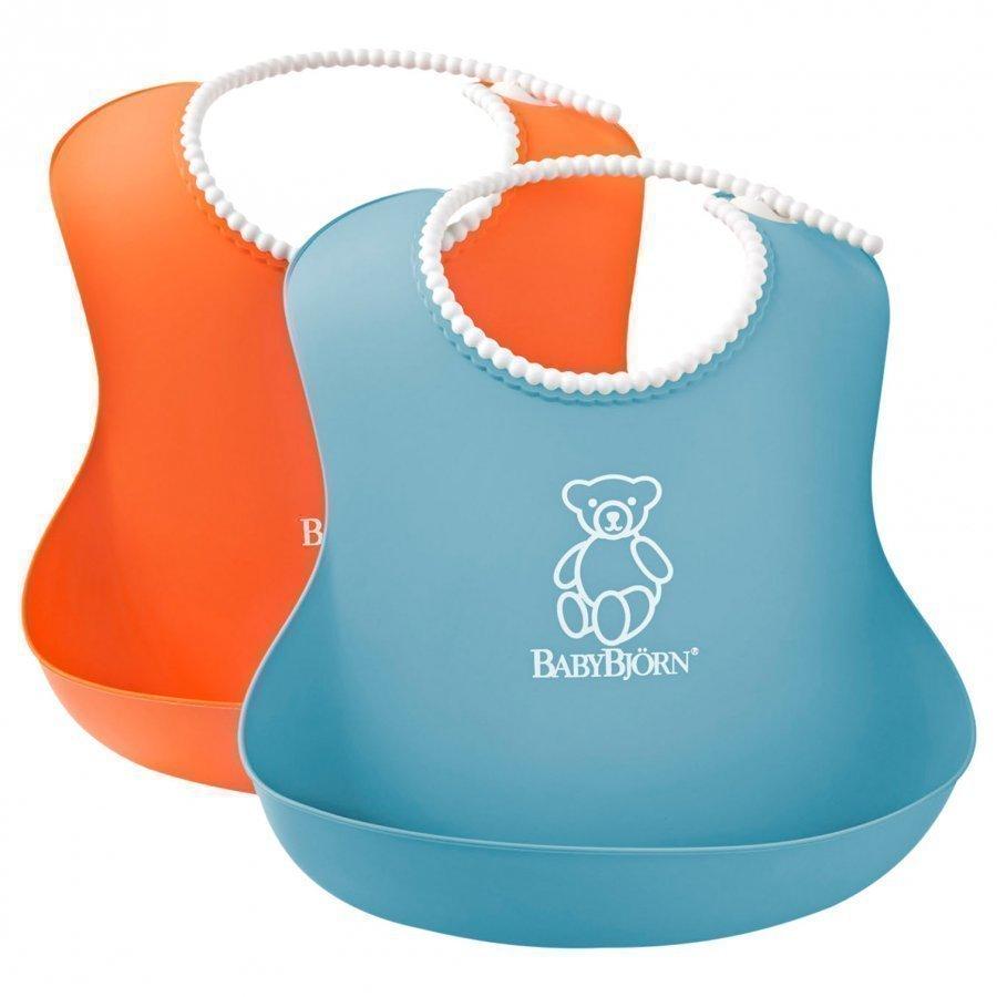 Babybjörn Soft Bib 2-Pack Ruokalappu