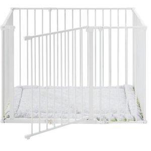 Babydan Square Leikkikehä Valkoinen
