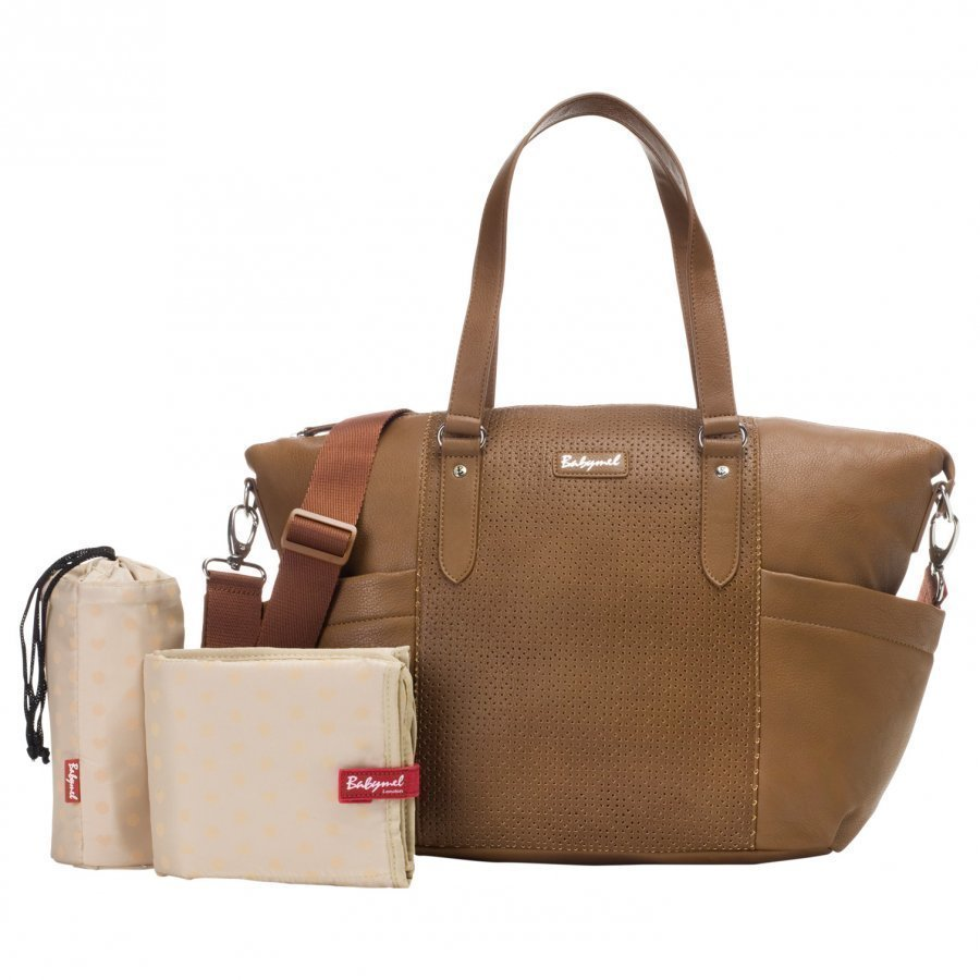 Babymel Anya Changing Bag Tan Hoitolaukku