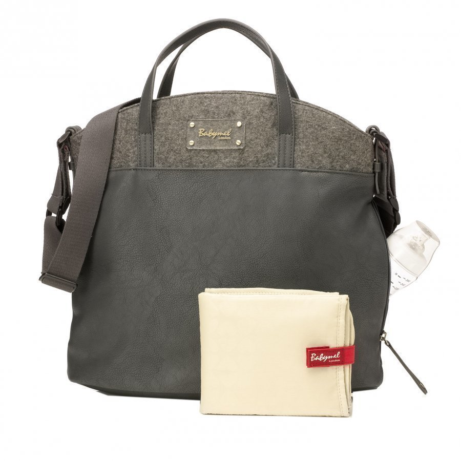 Babymel Grace Changing Bag Grey Hoitolaukku