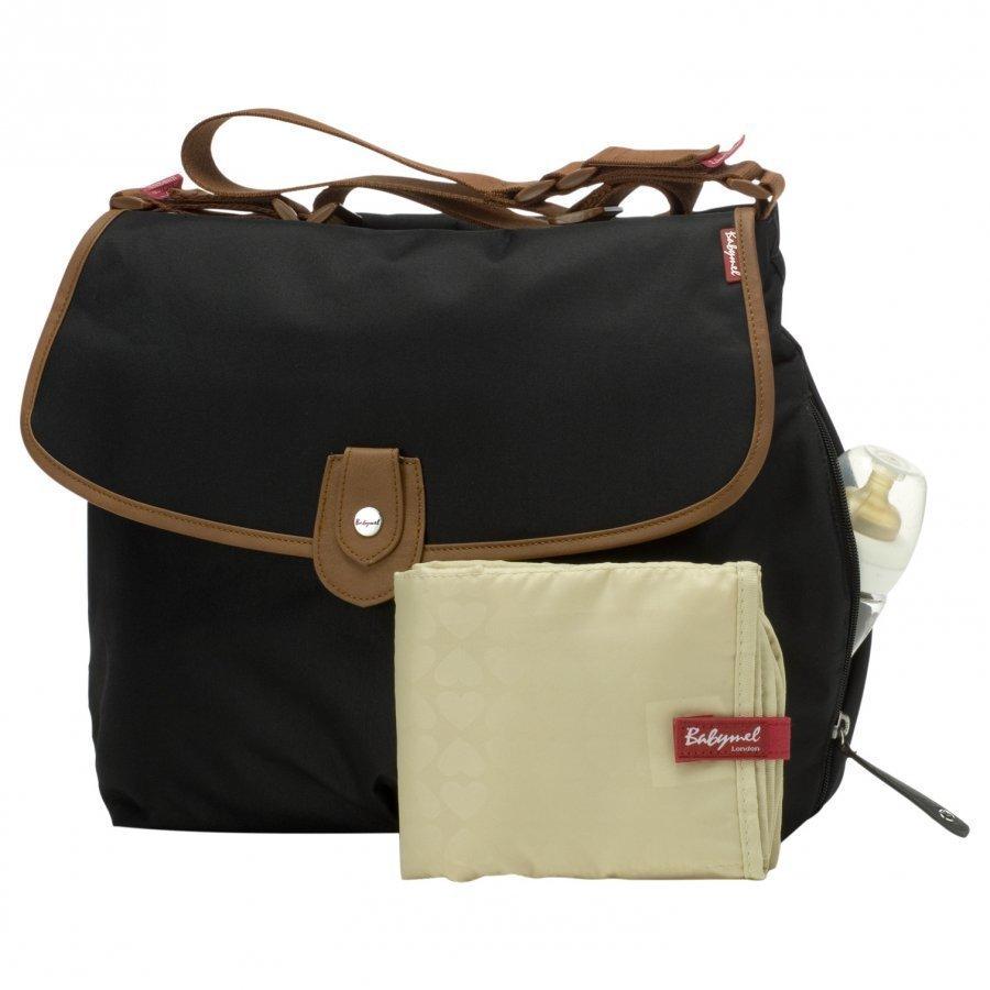 Babymel Satchel Changing Bag Black Hoitolaukku