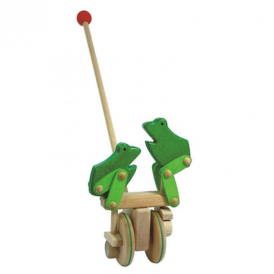 Bajo Frog Push Toy Vetolelu