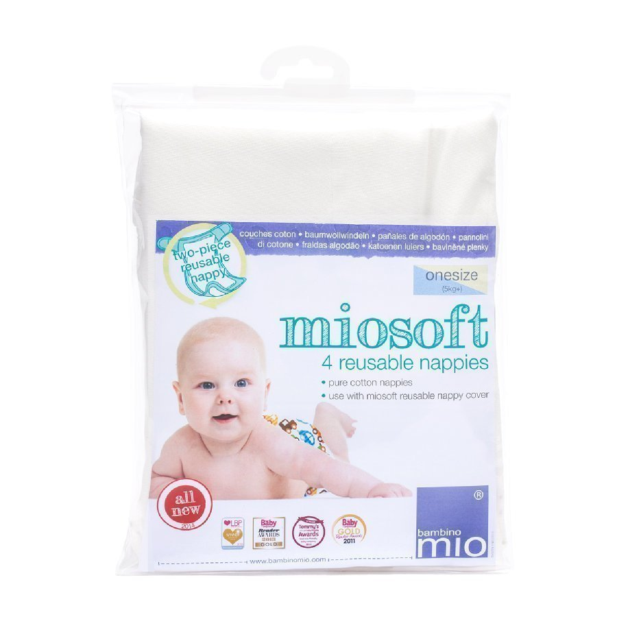 Bambino Mio Kestovaippa Miosoft One Size 4 Kpl