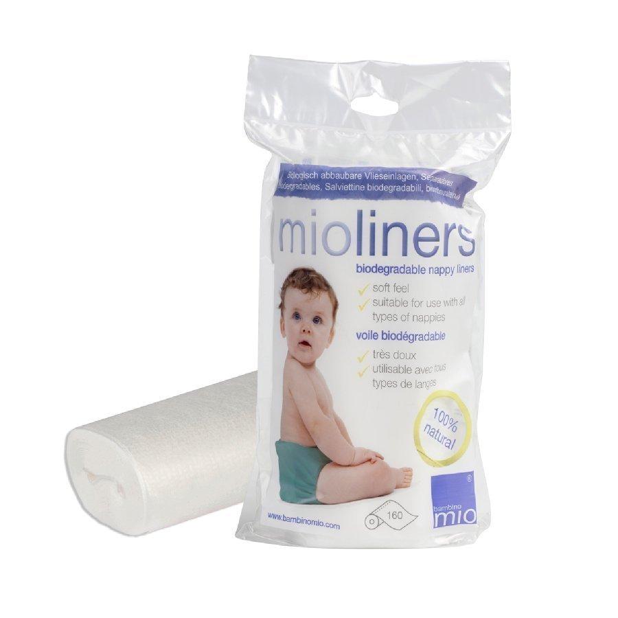 Bambino Mio Mioliners Hoitoliinat Kestovaippohin 160 Kpl Rulla Biologisesti Hajoava