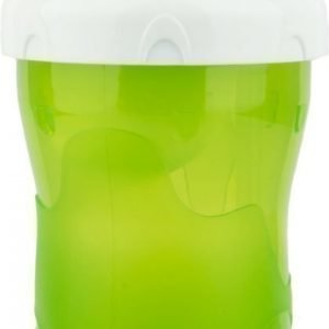 Bambino Snack 'n' Sip Cup 280 ml Vihreä