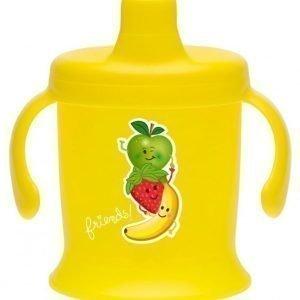 Bambino Spill Proof Cup 200 ml Keltainen