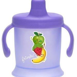 Bambino Spill Proof Cup 200 ml Liila