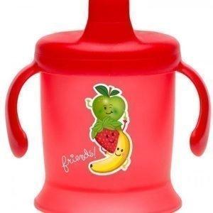 Bambino Spill Proof Cup 200 ml Punainen