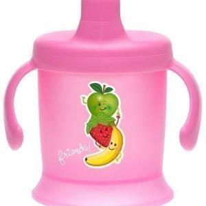 Bambino Spill Proof Cup 200 ml Vaaleanpunainen