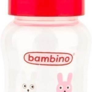 Bambino Wide Neck Bottle 250 ml Punainen