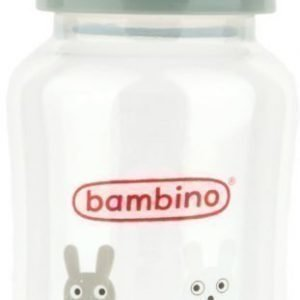 Bambino Wide Neck Bottle 330 ml Harmaa