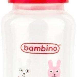 Bambino Wide Neck Bottle 330 ml Punainen
