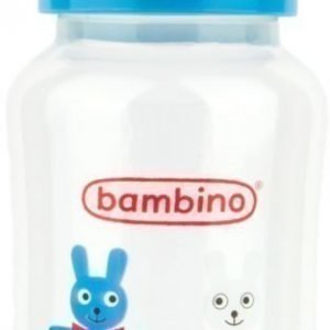 Bambino Wide Neck Bottle 330 ml Sininen