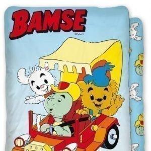 Bamse Pussilakanasetti 150 x 210 cm Kilpisen auto