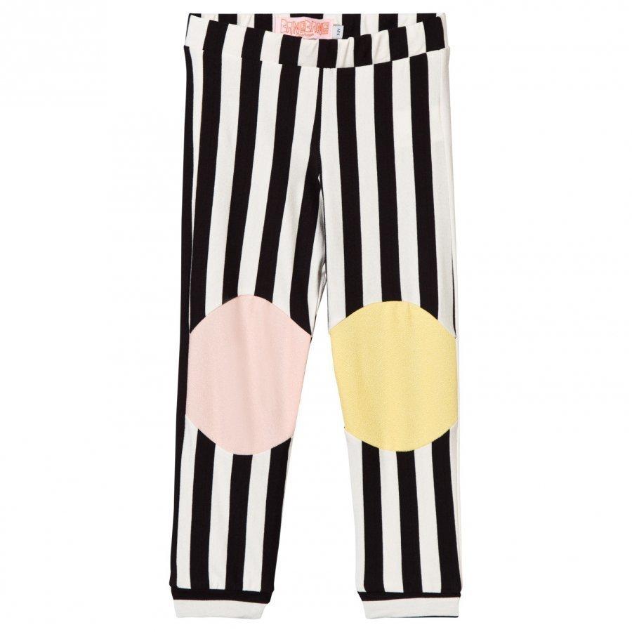 Bang Bang Copenhagen Black And White Stripe Happy Legs Leggings Legginsit