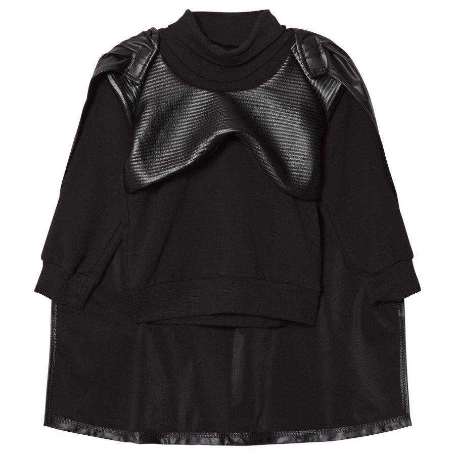 Bang Bang Copenhagen Black Knight Sweatshirt Detachable Cape Oloasun Paita