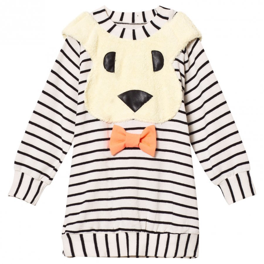 Bang Bang Copenhagen Black/White All Ears Bunny Knit Dress Mekko