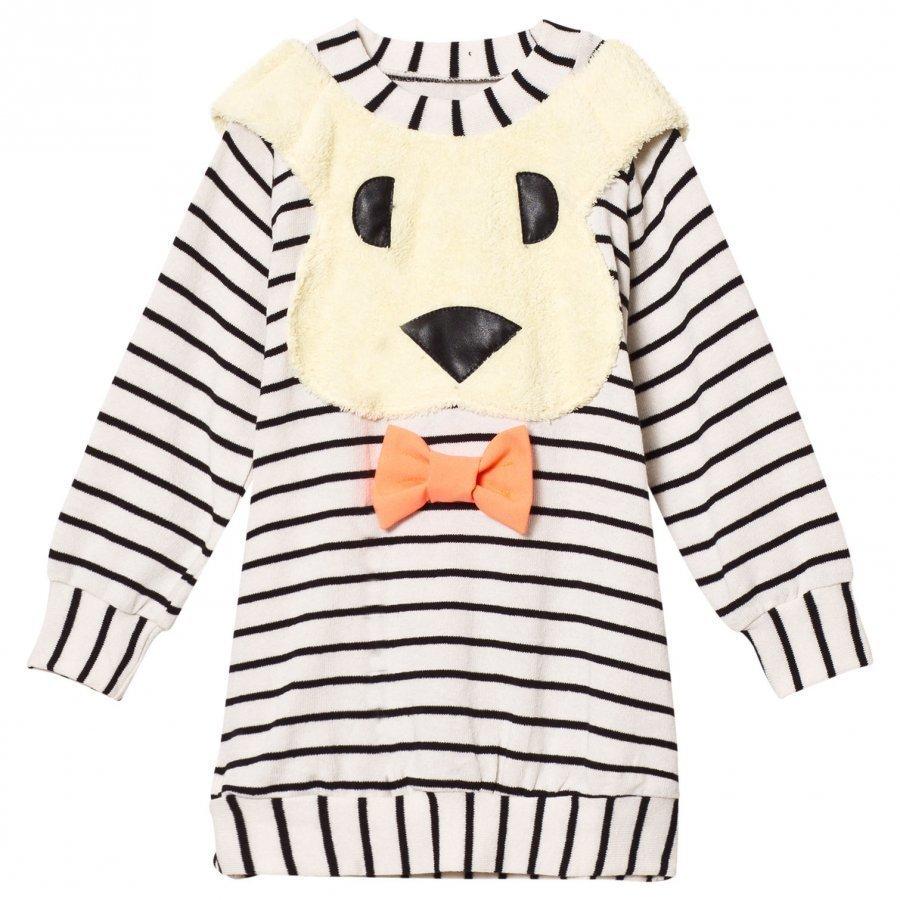 Bang Bang Copenhagen Black/White All Ears Bunny Knit Dress Mekko