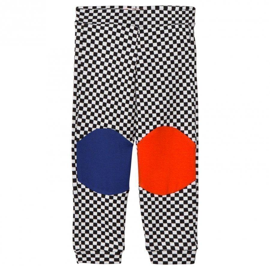 Bang Bang Copenhagen Black/White Checkerboard Happy Check Leggings Legginsit