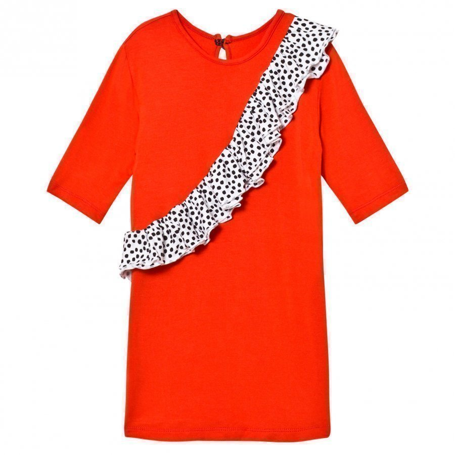 Bang Bang Copenhagen Exclusive Red/Multi Spot Sevilla Dress Juhlamekko