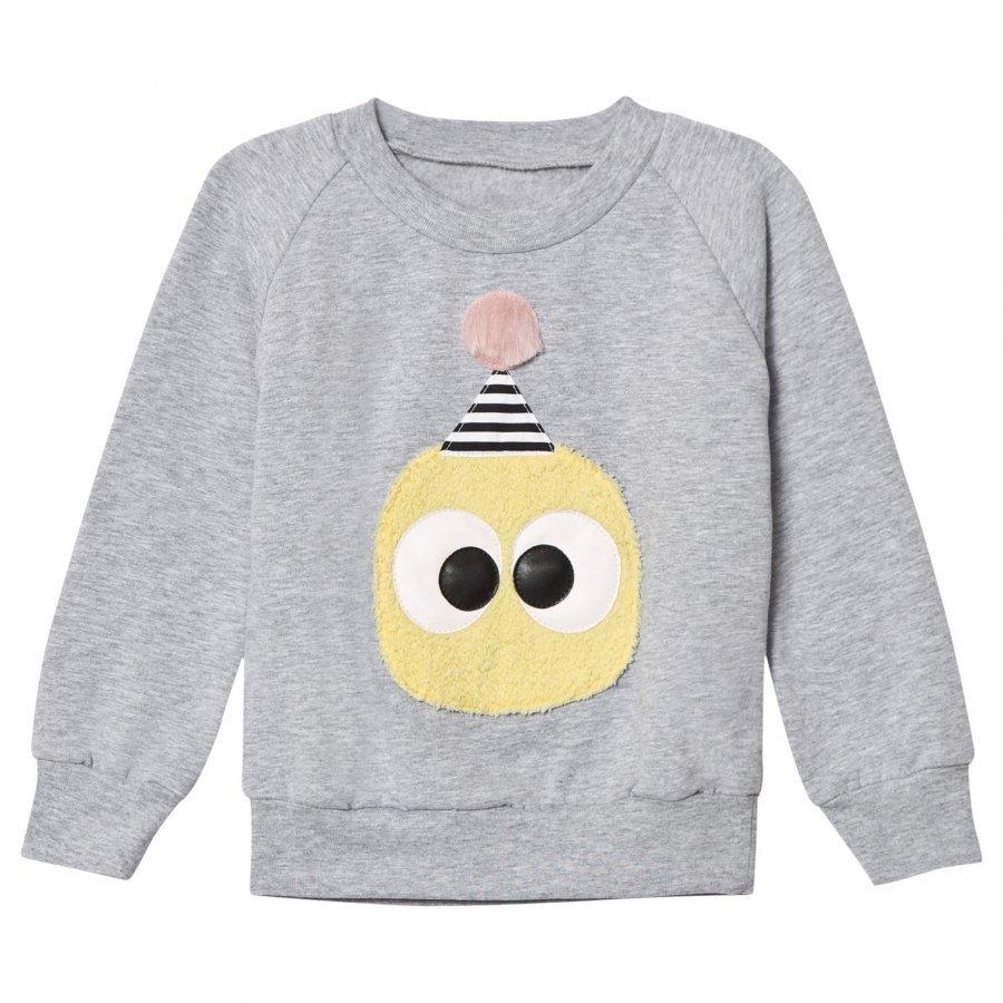Bang Bang Copenhagen Grey Fluffy Junior Sweatshirt Oloasun Paita