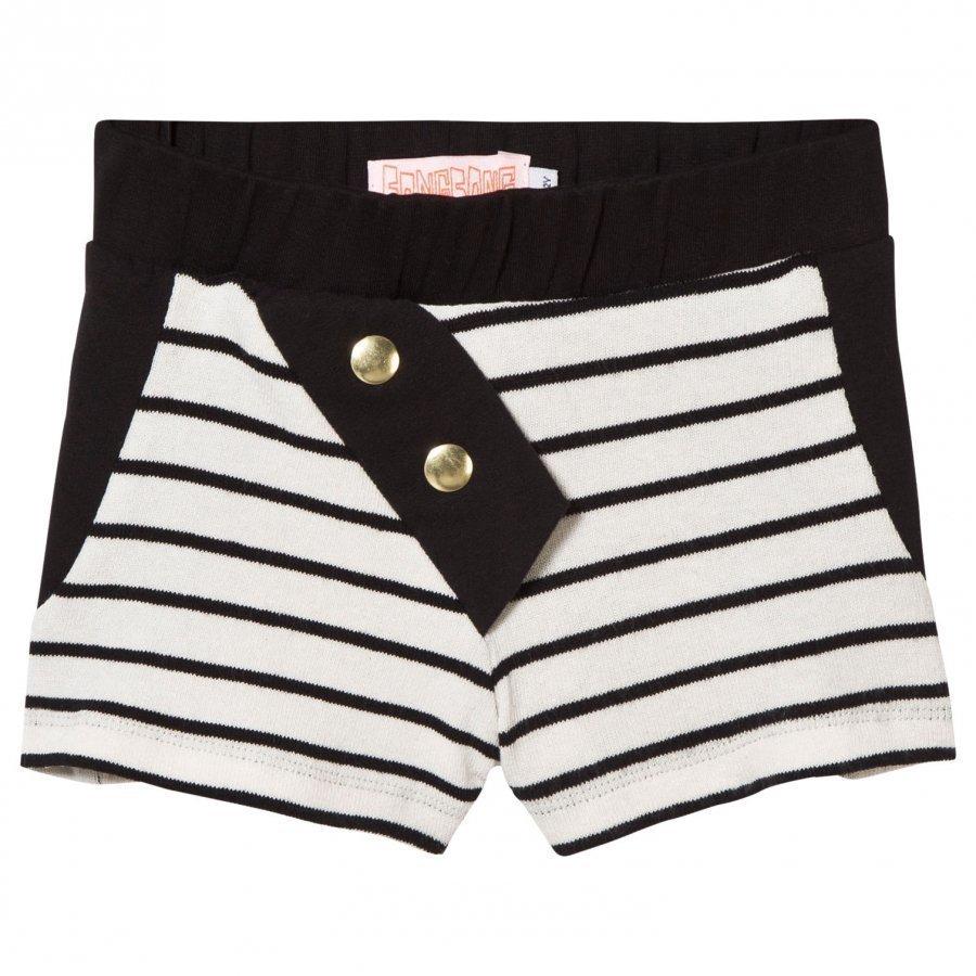 Bang Bang Copenhagen Jersey Sunny Shorts Black And White Juhlashortsit