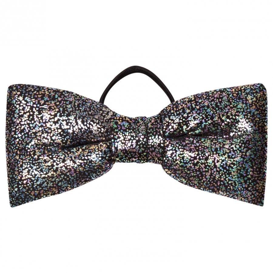 Bang Bang Copenhagen Silver Glitter Hair Bow Hiusnauha