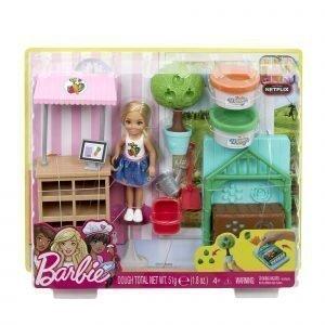 Barbie Chelsea Ja Puutarhaleikkisetti