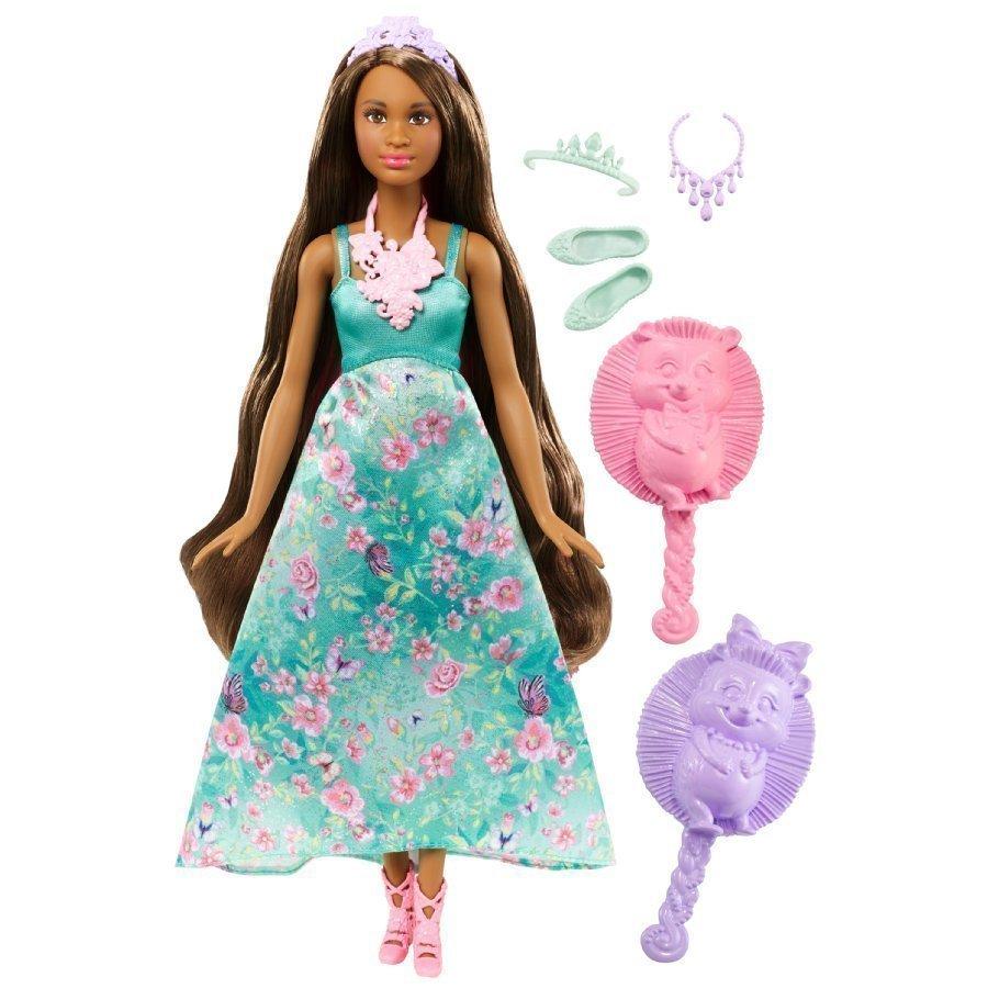 Barbie Dreamtopia Kampausprinsessa Tumma